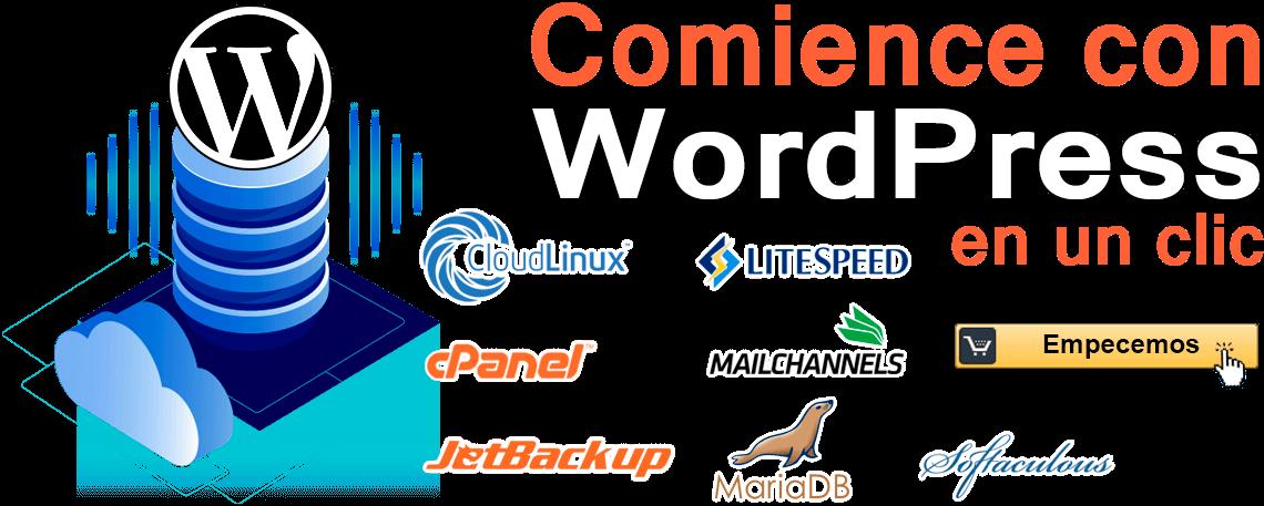 hosting wordpress peru lima norte ecreative