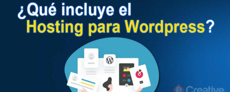 que-incluye-wordpress-hosting-lima-peru-ecreative